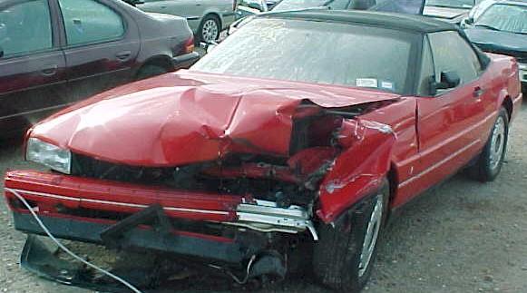 1991 Cadillac Allante for parts On-Line Auto parts store