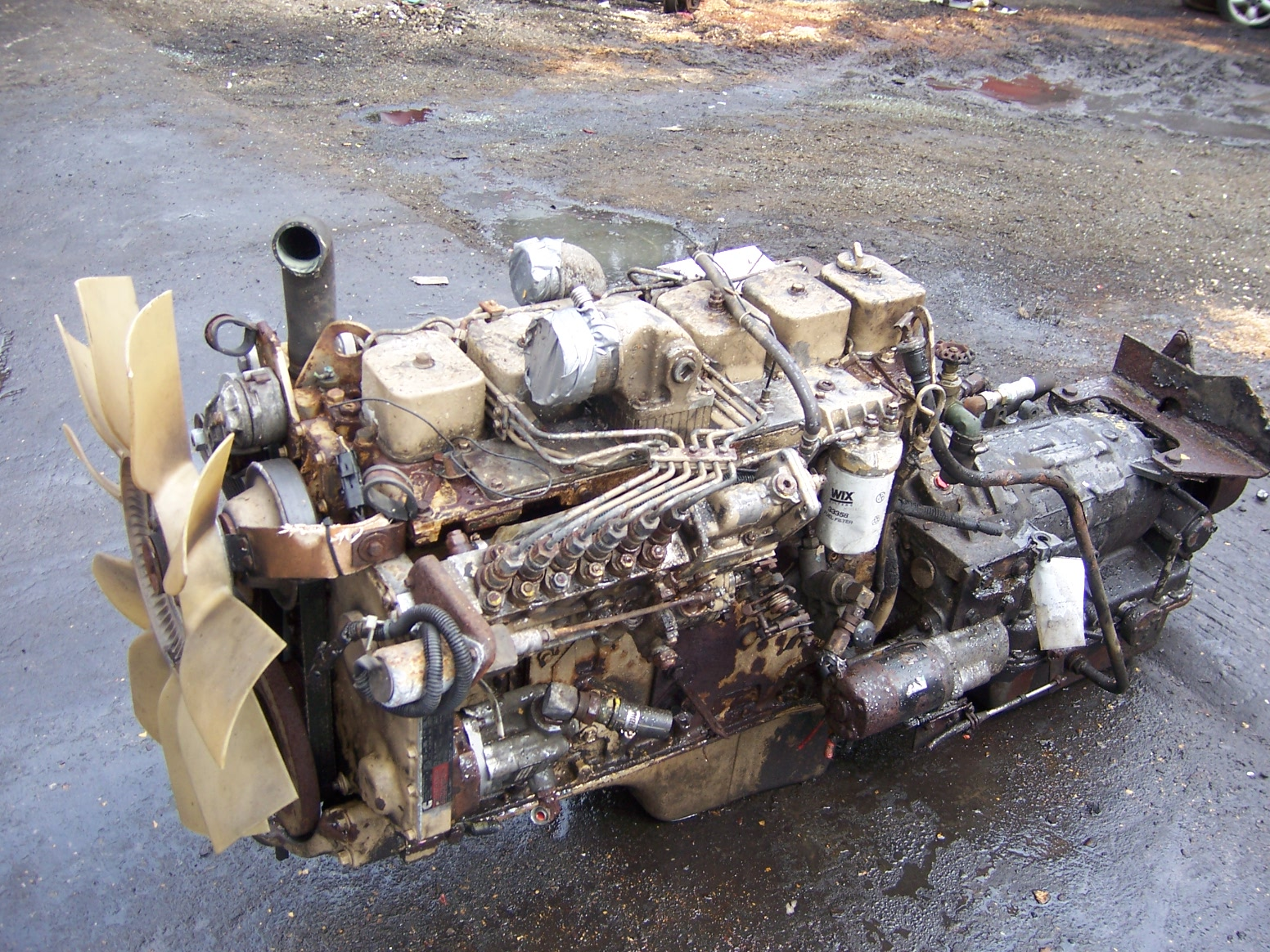 One Used Dodge Cummins 5 9 6bt Diesel Engine Used